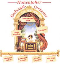 Firmenlogo vom Unternehmen Hohenloher Drehorgel-Orchester aus Pfedelbach - Heuberg