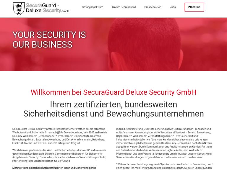 Firmenlogo von Deluxe-Security-Service