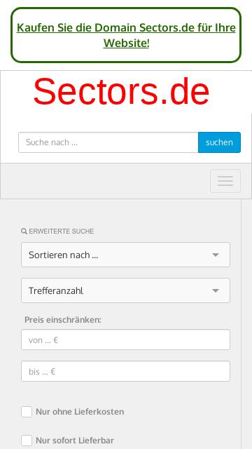 Firmenlogo vom Unternehmen sectors GmbH aus Regensburg