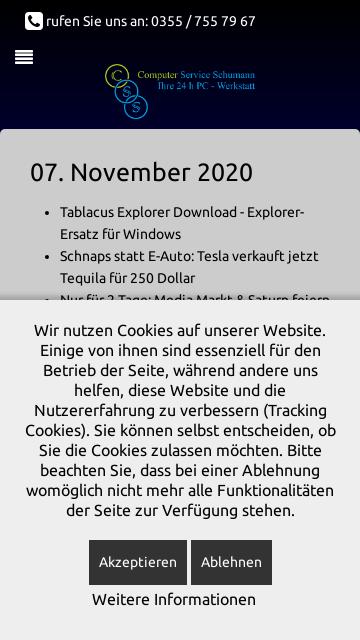 Firmenlogo von Computer Service Schumann