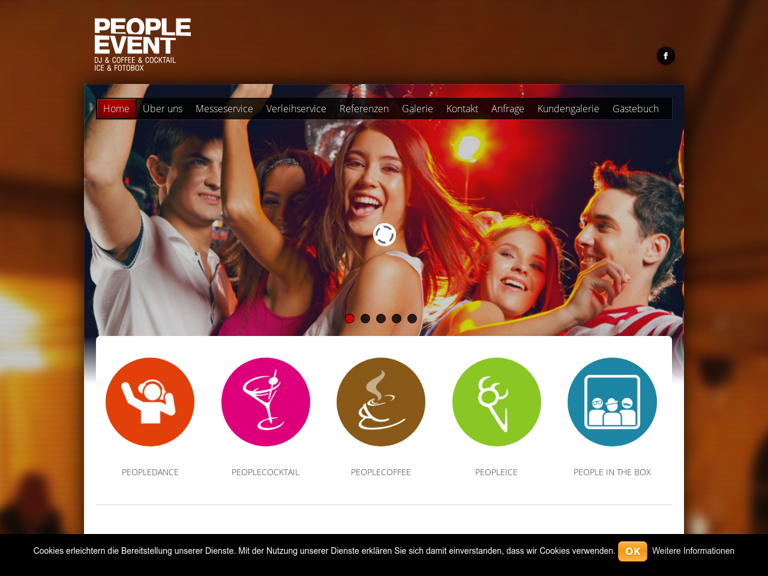 Firmenlogo von peopledance