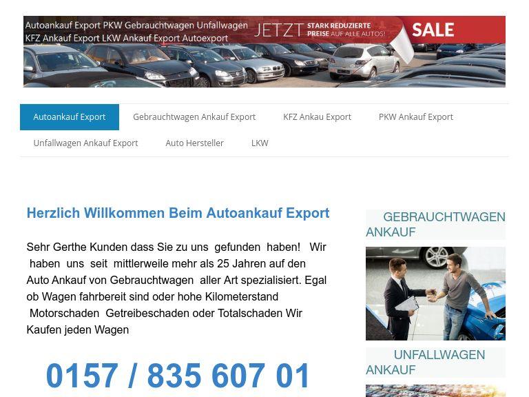 Firmenlogo vom Unternehmen Auto Ankauf Exports aus Essen