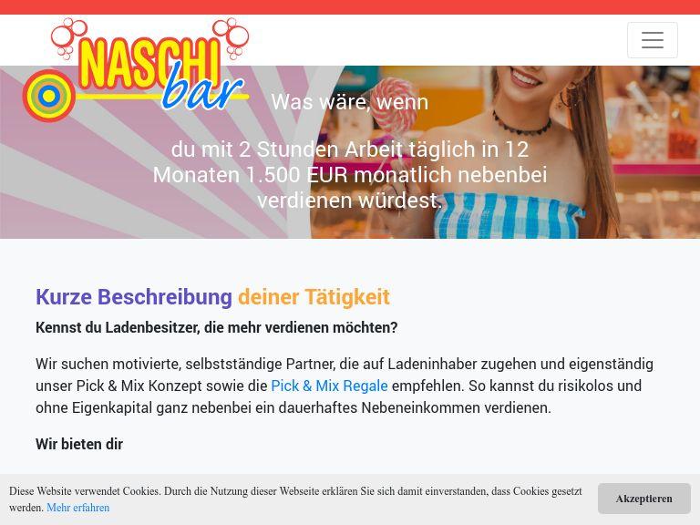 Firmenlogo NaschiBar Franchise GmbH
