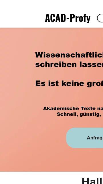Firmenlogo vom Unternehmen ACAD-Profy aus Darmstadt