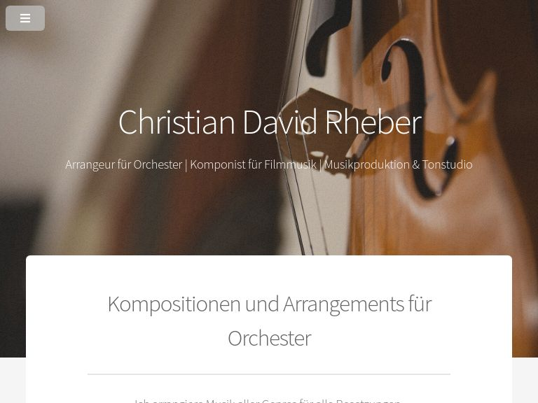 Firmenlogo vom Unternehmen orchester-arrangeur.de aus Dresden