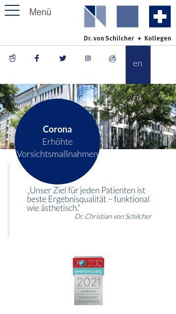 Firmenlogo vom Unternehmen Zahnarztzentrum am Hofgarten aus Düsseldorf