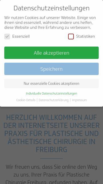 Firmenlogo vom Unternehmen Plastische Chirurgie Freiburg, Praxisgemeinschaft Dr. Voigt und aus Freib