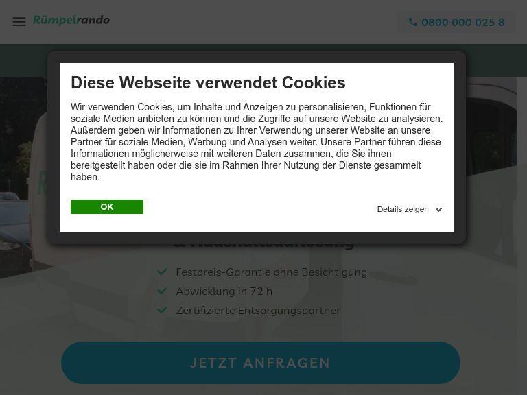 Firmenlogo vom Unternehmen Rümpelrando aus Hamburg