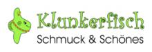 Firmenlogo vom Unternehmen Klunkerfisch - Schmuck & Schönes aus Halle (220px)