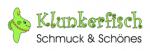 Firmenlogo vom Unternehmen Klunkerfisch - Schmuck & Schönes aus Halle