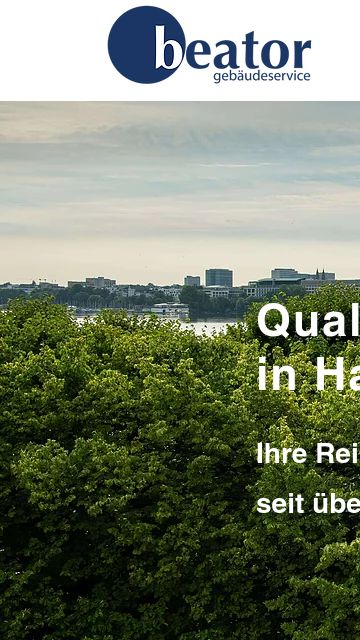 Firmenlogo vom Unternehmen Beator Gebäudeservice GmbH aus Hamburg