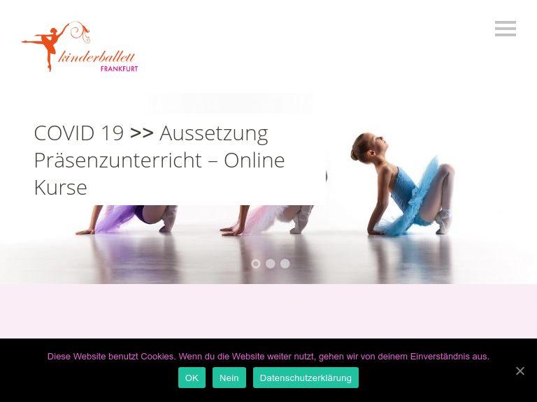 Firmenlogo vom Unternehmen Kinderballett Frankfurt aus Frankfurt am Main