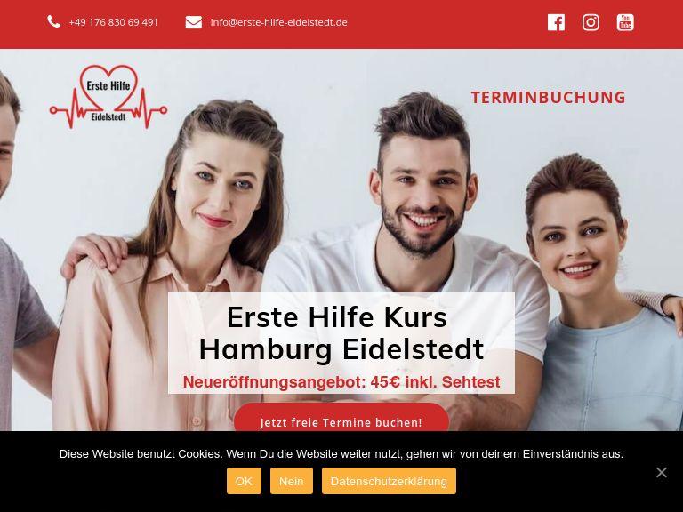 Firmenlogo vom Unternehmen Erste Hilfe Kurs Hamburg Eidelstedt aus Hamburg