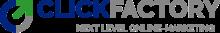 Firmenlogo vom Unternehmen Clickfactory aus Stuttgart (220px)