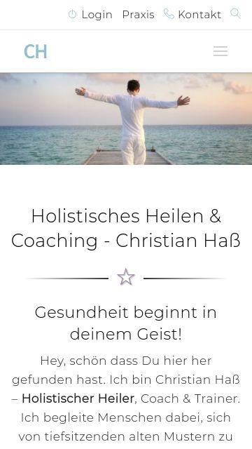 Firmenlogo vom Unternehmen Christian Haß - Holistisches Heilen aus Ahlen