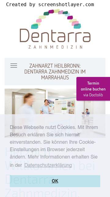 Firmenlogo vom Unternehmen Dentarra Zahnmedizin aus Heilbronn
