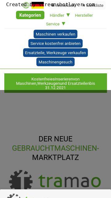 Firmenlogo vom Unternehmen tramao GmbH aus Andernach