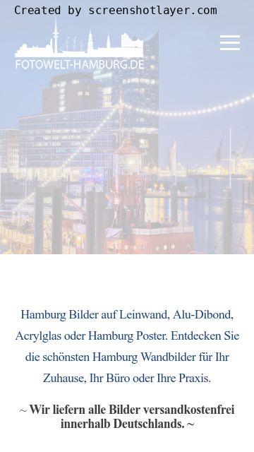 Firmenlogo vom Unternehmen Fotowelt-Hamburg aus Hamburg