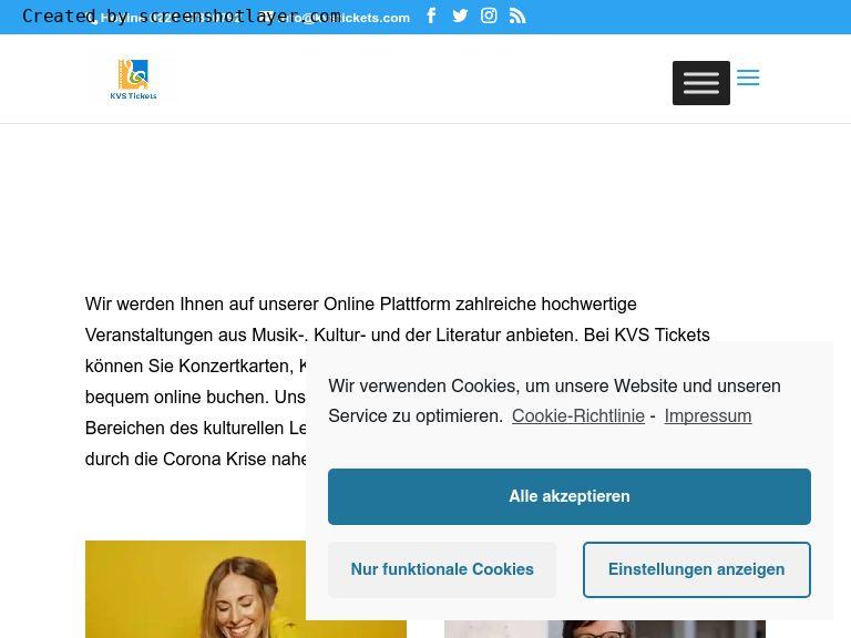 Firmenlogo vom Unternehmen KVS Tickets aus Köln