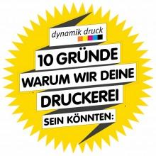 Firmenlogo vom Unternehmen Dynamik Druck GmbH aus Hamburg (220px)