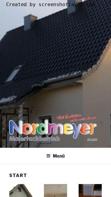 Firmenlogo vom Unternehmen Nordmeyer Malerfachbetrieb GmbH aus Lage
