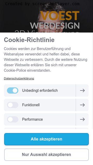 Firmenlogo vom Unternehmen Voest Webdesign Agentur aus Augsburg
