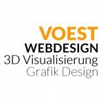 Firmenlogo vom Unternehmen Voest Webdesign Agentur aus Augsburg (150px)