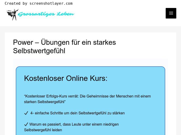 Firmenlogo vom Unternehmen Grossartiges Leben aus berlin