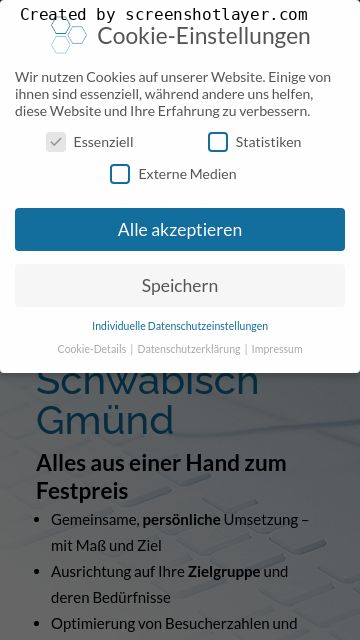 Firmenlogo vom Unternehmen Complete Webdesign Michael Watzlawik aus Schwäbisch Gmünd