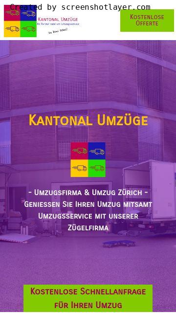 Firmenlogo vom Unternehmen Umzug Zürich - Kantonal Umzüge aus Bülach