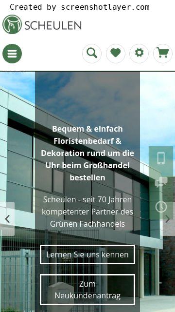 Firmenlogo vom Unternehmen H.U. Scheulen GmbH & Co. KG aus Mönchengladbach