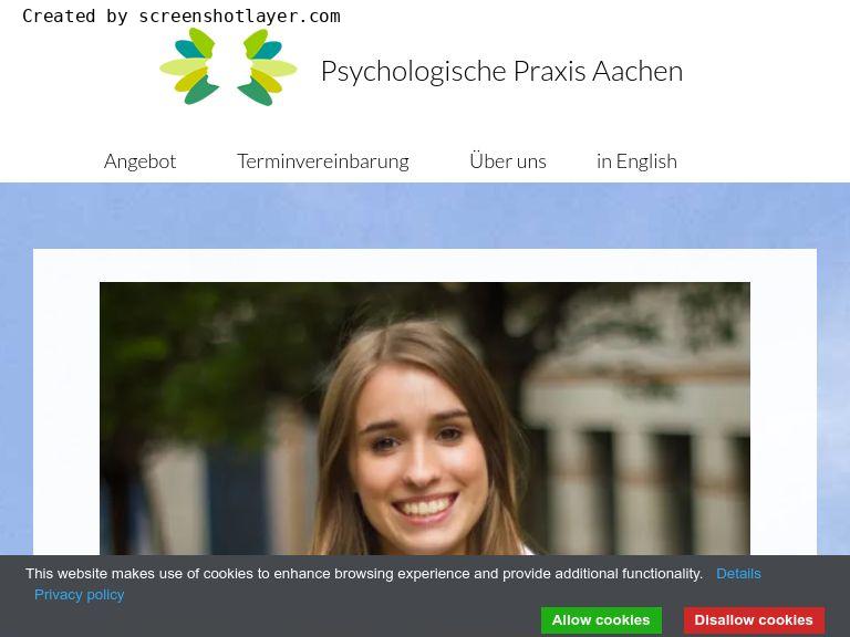 Firmenlogo vom Unternehmen Psychologische Praxis Aachen - Psychotherapie & Hypnose aus Aachen