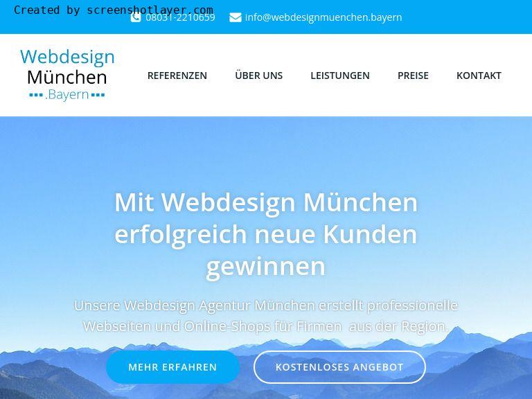 Firmenlogo vom Webdesign München